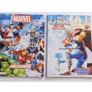 🆕 2 New Superhero Coloring & Activity Books